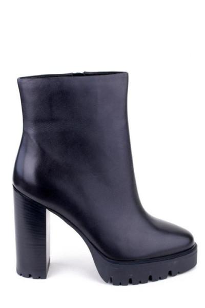 Ботильоны демисезонные женские Basconi высокий устойчивый каблук