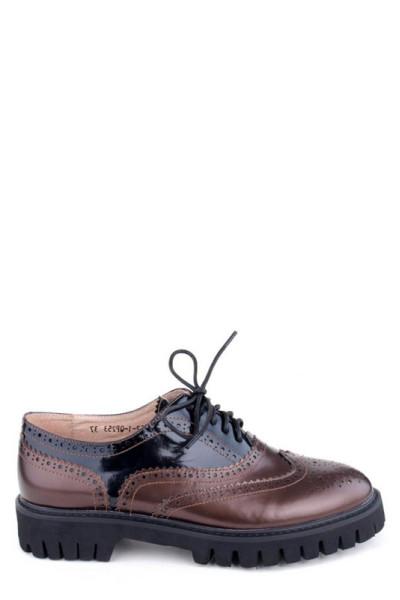 Женские туфли броги Basconi натуральная кожа