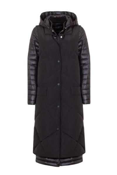 Два в одном пальто и длинная безрукавка